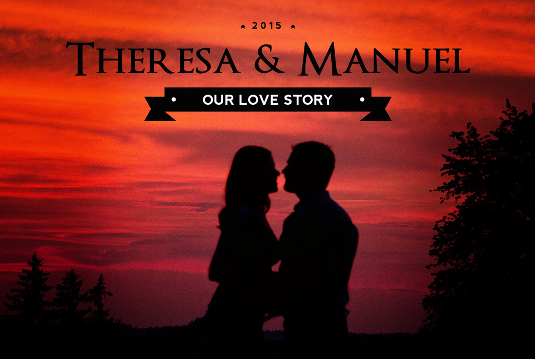 Love Story Theresa Manuel Frameblending