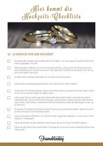 Hochzeits-Checkliste Frameblending