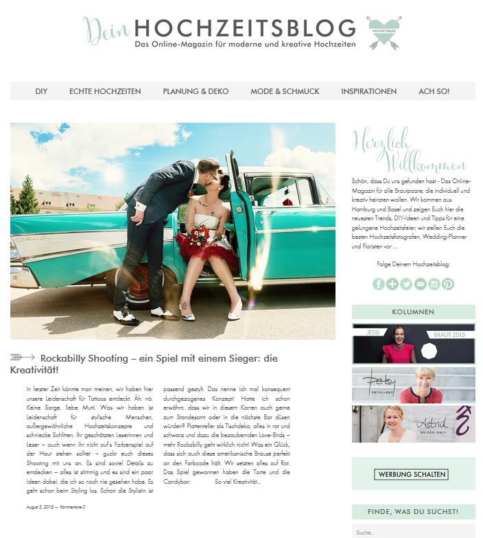 Dein Hochzeitsblog