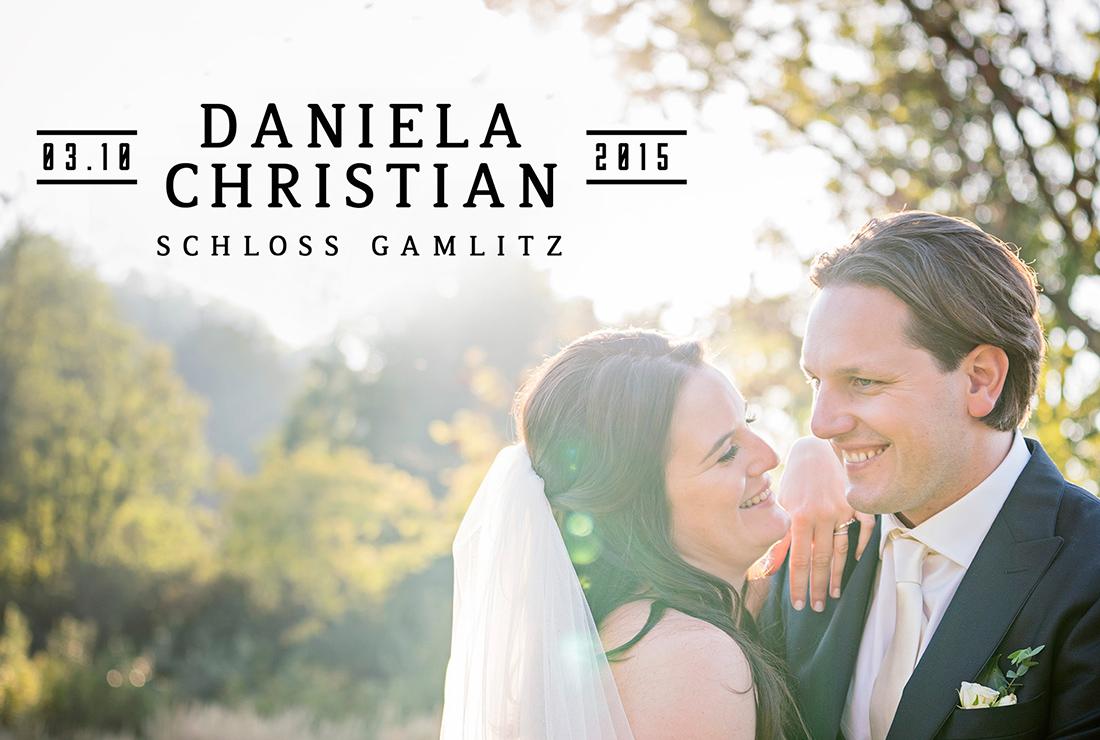 Hochzeitsvideo Daniela und Christian