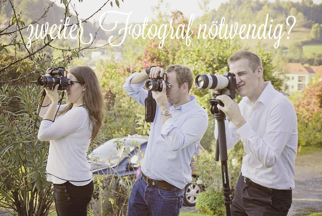 Brauche ich wirklich einen zweiten Hochzeitsfotografen?
