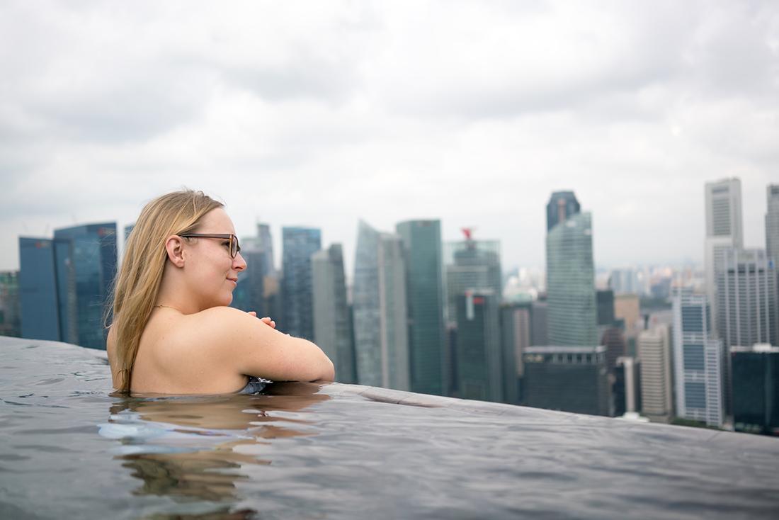 Singapur Marina Bay Pool