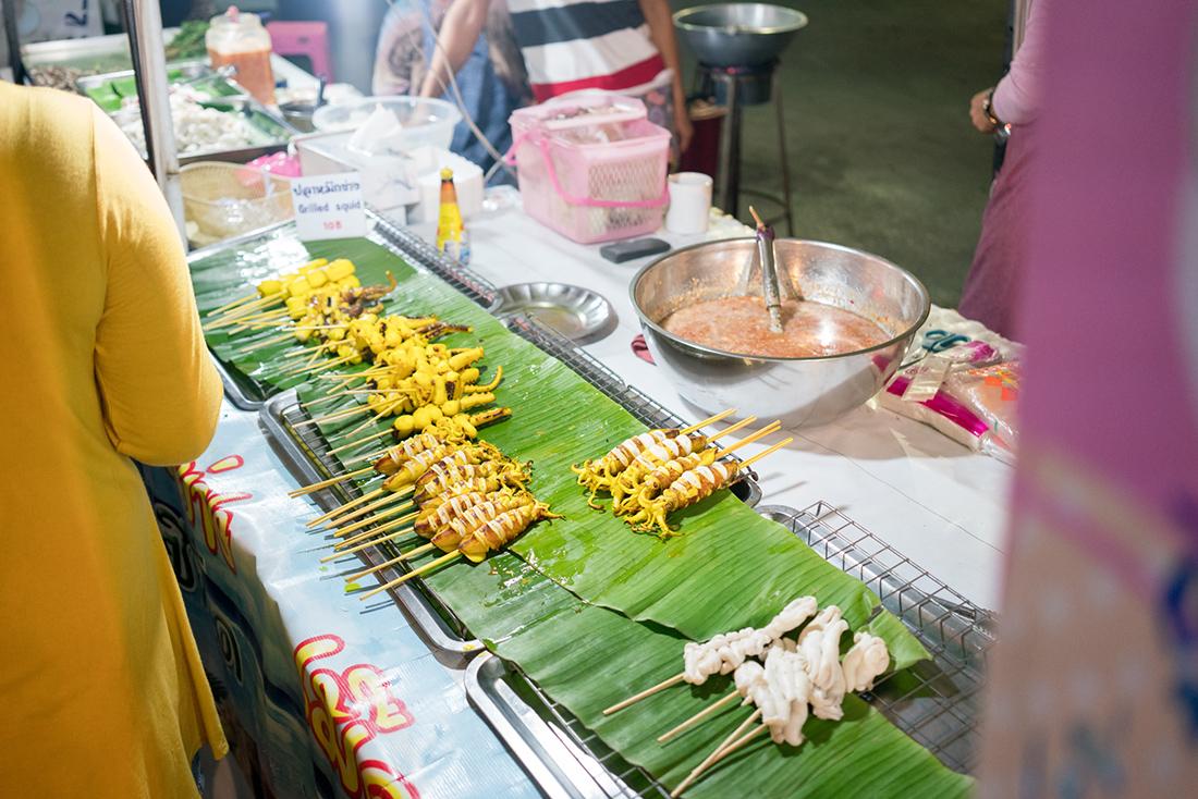 Thailand Street Market