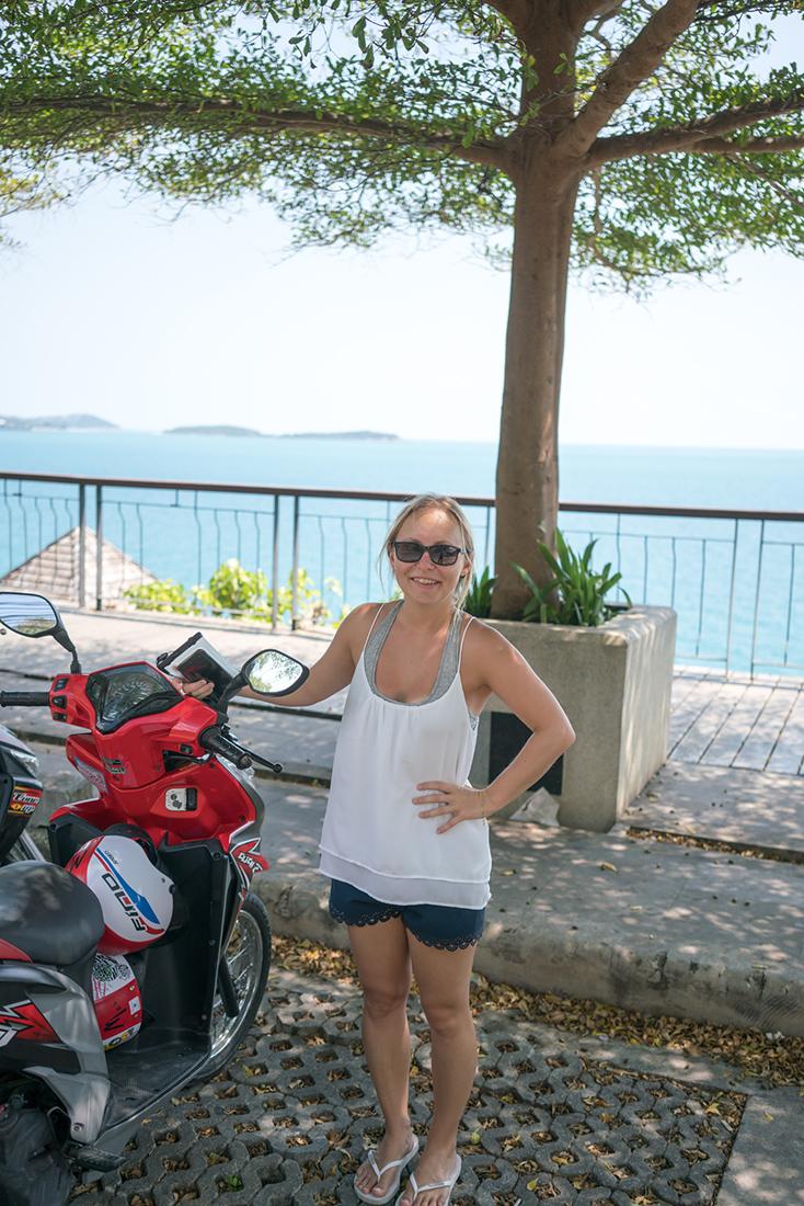 Moped in Koh Samui