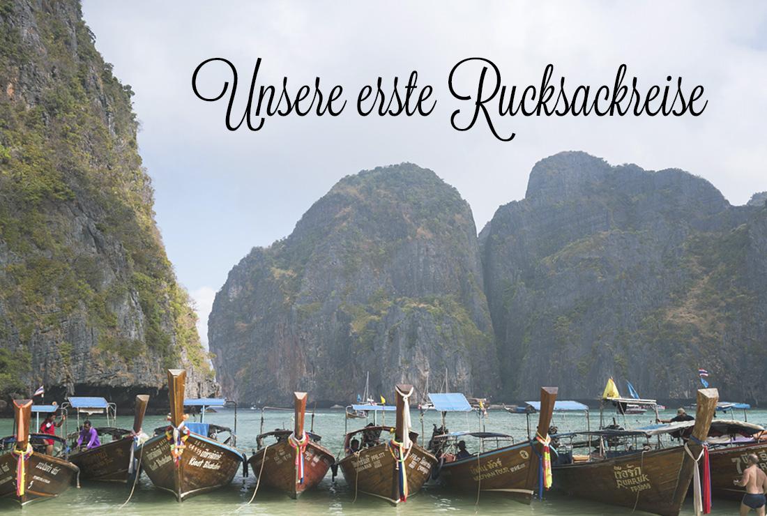 Unsere erste Rucksackreise nach Thailand