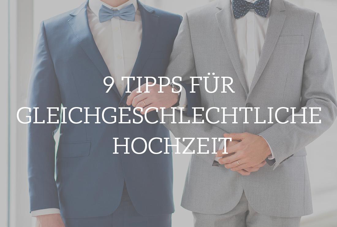 Tipps für gleichgeschlechtliche Hochzeit Frameblending