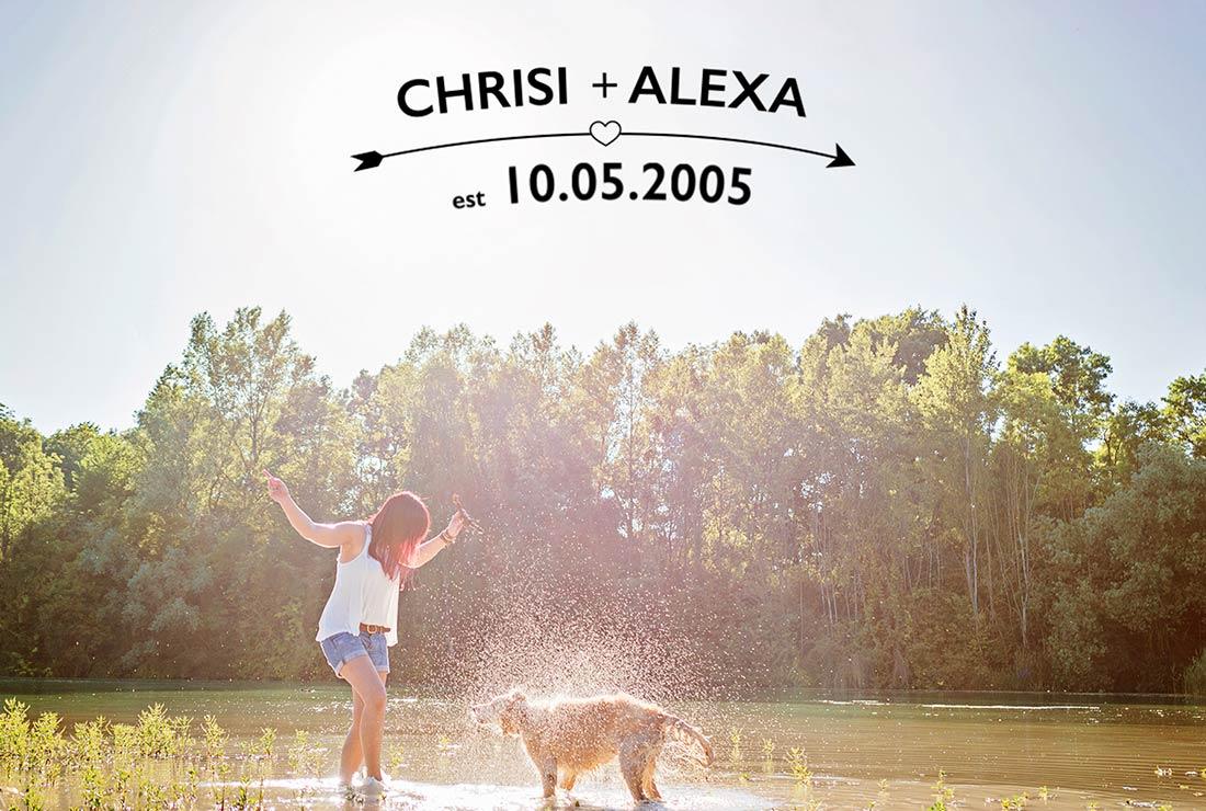 Love Story Christian Alexa Erinnerungen für immer